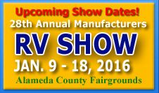 Ala. Co. Fairgrounds, Pleasanton RV show & sale