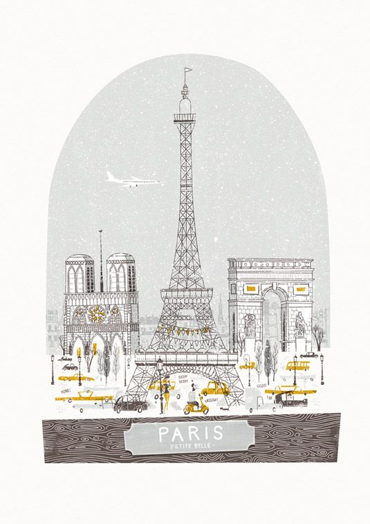 Travel posters Paris