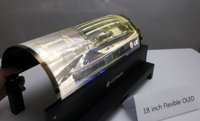 Ecranul flexibil este aici şi este realizat de LG