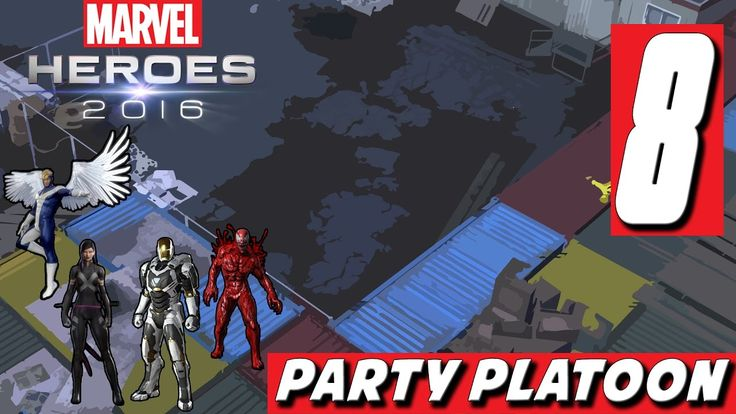 Party Platoon | Marvel Heroes 2016 (#8 Iron Man Gameplay) The Doctor Str...
