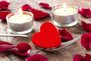 Valentinstagsdeko