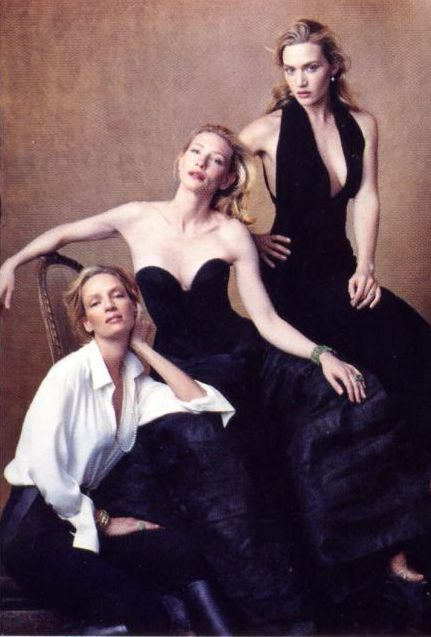 Kate Winslet, Uma Thurman and Cate Blanchet