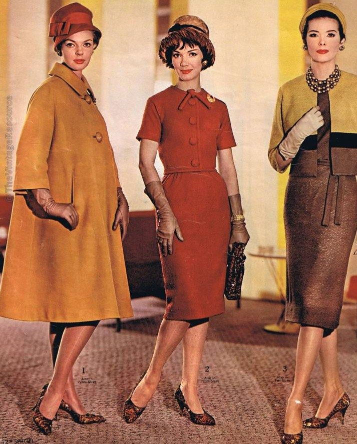 1960s Fashion, Vintage Outfits, Fashion