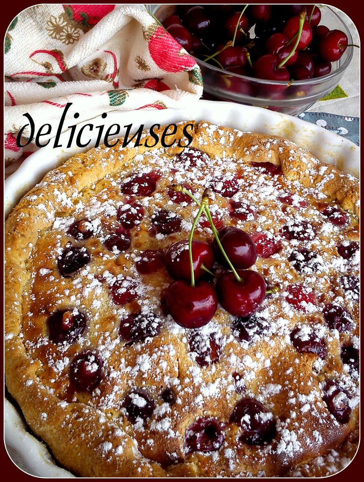 Κερασόπιτα με κρέμα φλαν http://delicieuses.forumotion.net/t3619-topic#44086