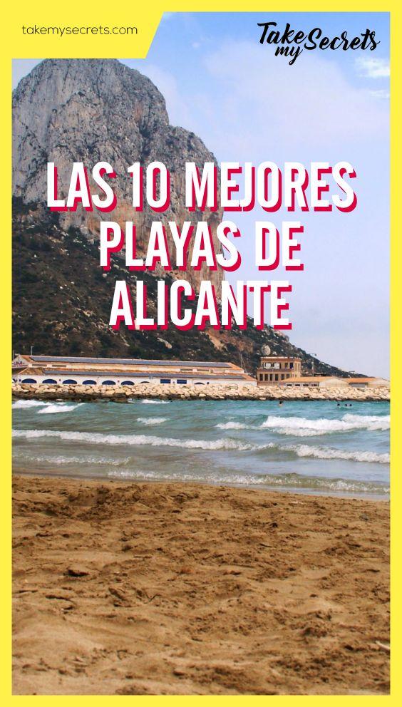@takemysecrets  Las mejores playas de #Alicante - the best beaches in Alicante  #playas #beaches