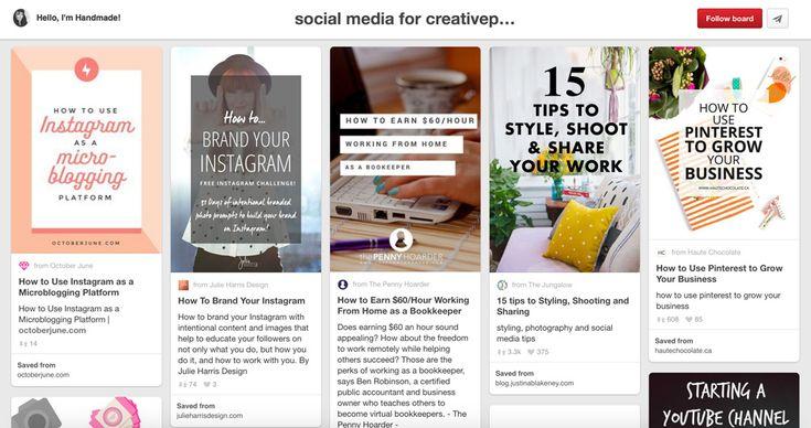 Pinterest Boards About Social Media Marketing