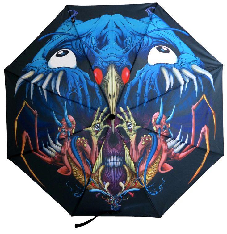 Alex Pardee - Nightmare - Pluvio Umbrella 1