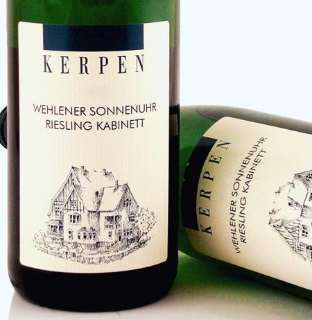 Kerpen Wehlener Sonnenuhr Riesling Kabinett 2013 - Honestly one of the best Riesling I have tried!!