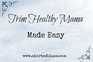 """NOTE: Edited to correct some of misinformation I had at first. Sorry about that! I've had so many people ask me questions about Trim Healthy Mama and how it works that I have decided to do a series of posts on the basics of what I eat. If you get the """"Trim Healthy Mama"""" book,...Read More »"""