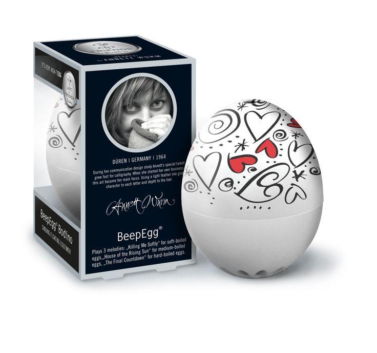 #Minutnik do gotowania jajek - #BeepEgg Bodino by Wrum - #Decosalon #design #dizajn #eggs #egg #easter #wielkanoc #brainstream