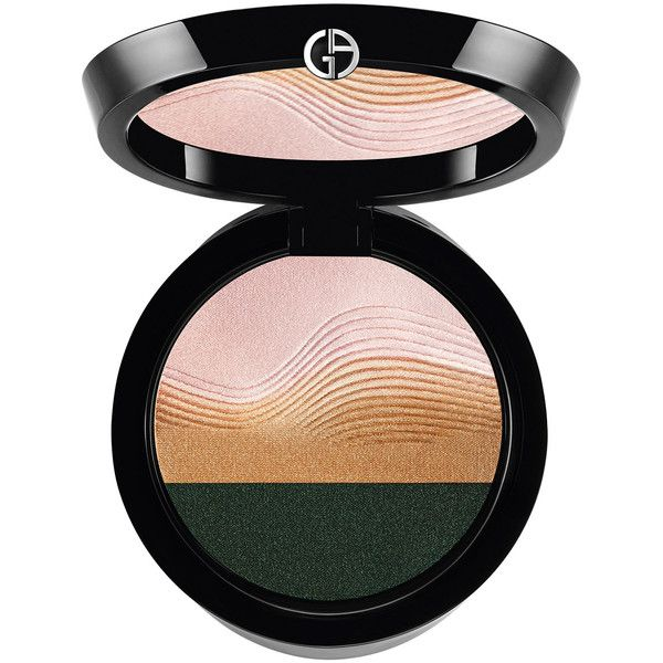 Giorgio Armani Limited Edition Life is a Cruise Sunset Eye Palette found on Polyvore featuring beauty products, makeup, multi pattern, giorgio armani cosmetics, giorgio armani makeup, palette makeup and giorgio armani
