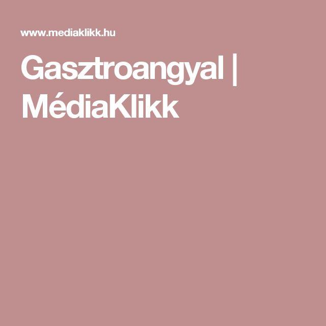 Gasztroangyal | MédiaKlikk