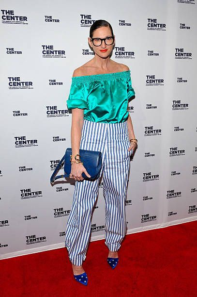 Jenna Lyons attends The LGBT Center of New York's annual fundraising dinner honoring MaryLouise Parker and BNY Mellon at Cipriani Wall Street on...