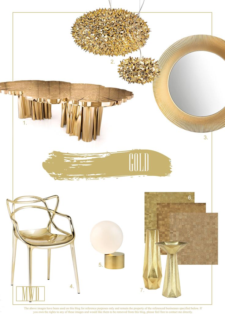 Gracefully Gold: Trends for the Home