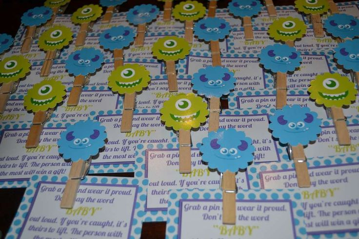 Monster's Inc Baby Shower Party Ideas | Photo 6 of 27 | Catch My Party