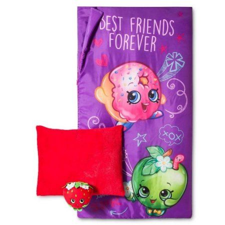 Shopkins Be Forever Slumber with Pillow Red