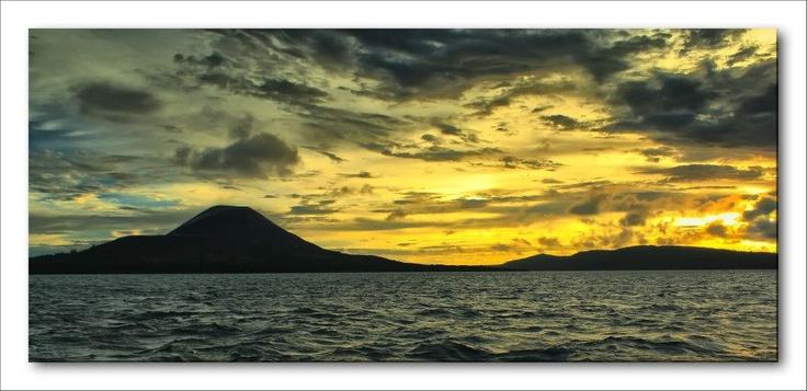 Sunset Krakatau