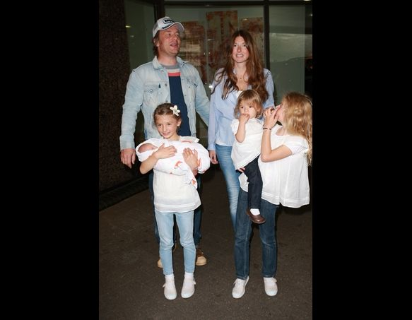 Jamie Oliver and Jools Oliver named their daughters Poppy Honey, Daisy Boo and Blossom Rainbow and their son Buddy.