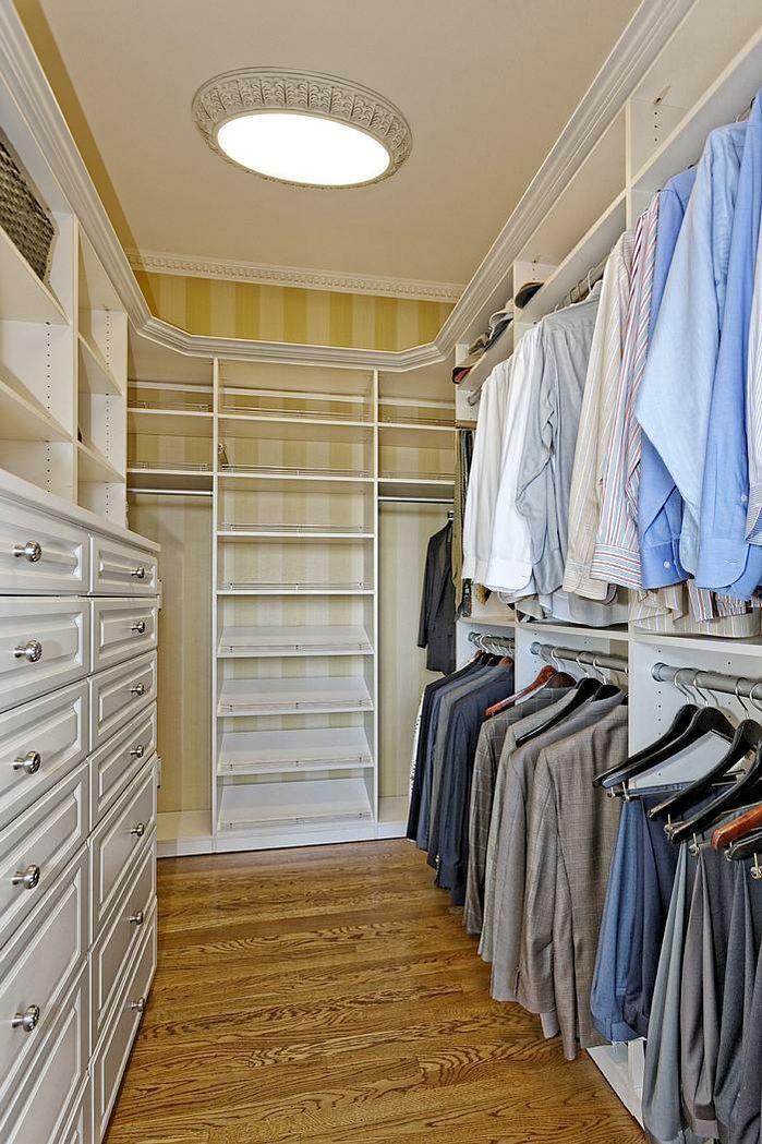 mens master bedroom luxury closet