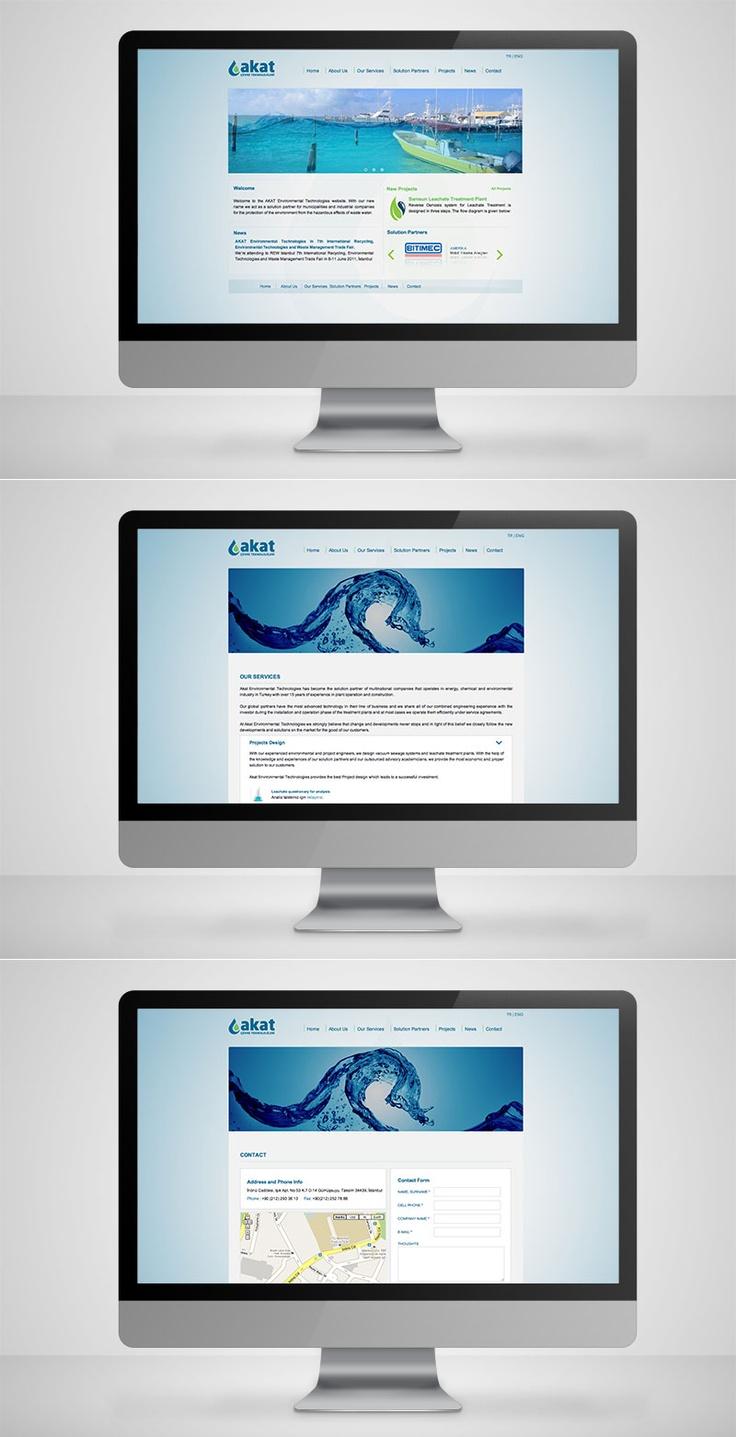 Akat Çevre Website