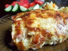 Самые вкусные рецепты: Картофель с ветчиной под сыром