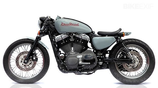 Deus 1200 V-Twin - Love that this is originally a Harley-Davidson Nightster!