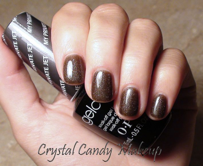 OPI GelColorMy Private Jet  Shellac  Pinterest  OPI Brown And Love The