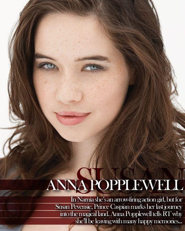 ブルーの瞳が美しい。アナ・ポップルウェル