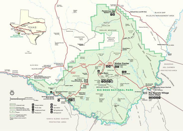 10 best Big Bend National Park Maps images on Pinterest National
