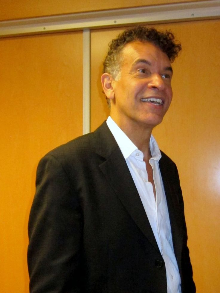 "Backstage with Brian Stokes Mitchell after ""Stephen Sondheim: In Conversation"" at the Segerstrom Center for the Arts"