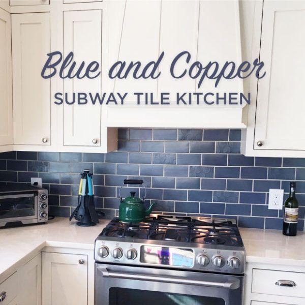 Best 25+ Blue Subway Tile Ideas On Pinterest