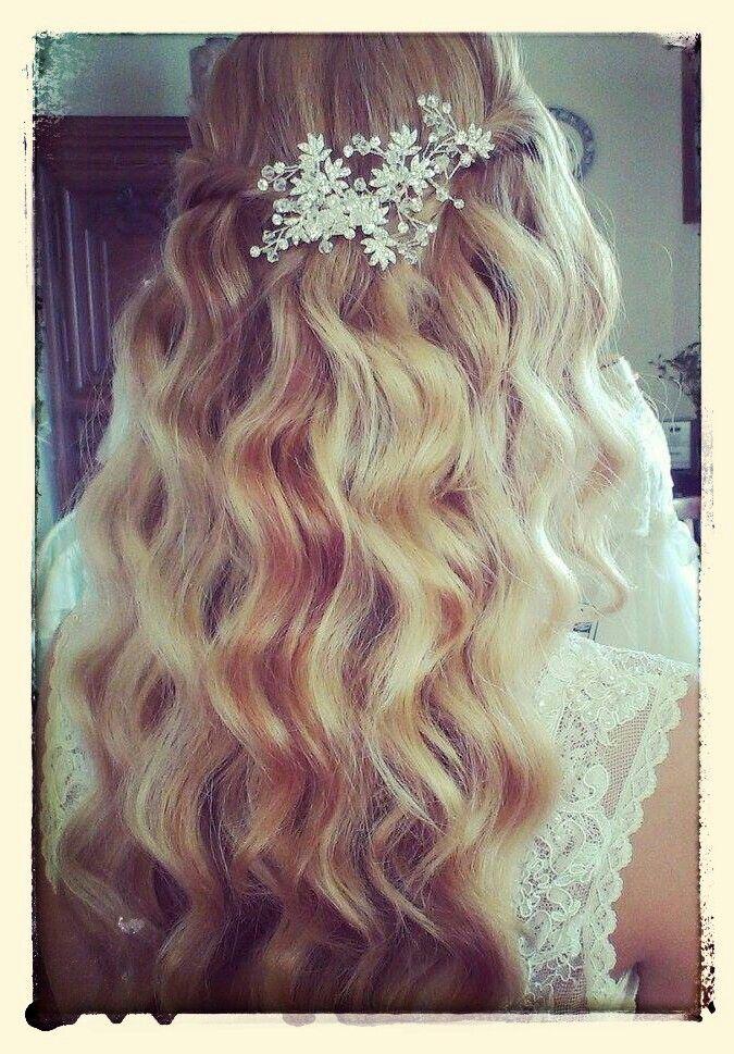 Vintage krullen # bruidskapsel www.mooibijmaaike.nl