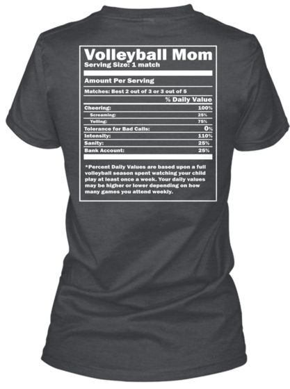100% Certified Volleyball Mom