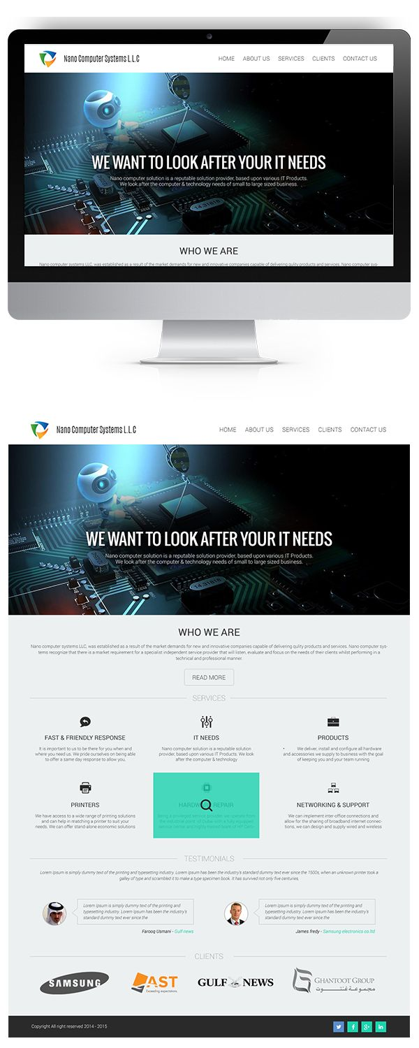 Nano Computer Systems on Behance