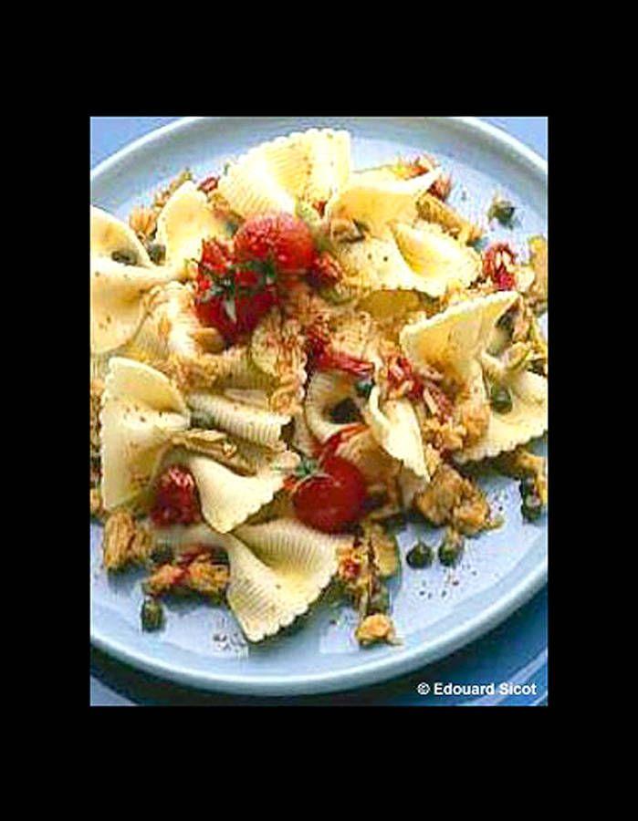 17 meilleures id 233 es 224 propos de salades de p 226 tes papillon sur salade de potluck