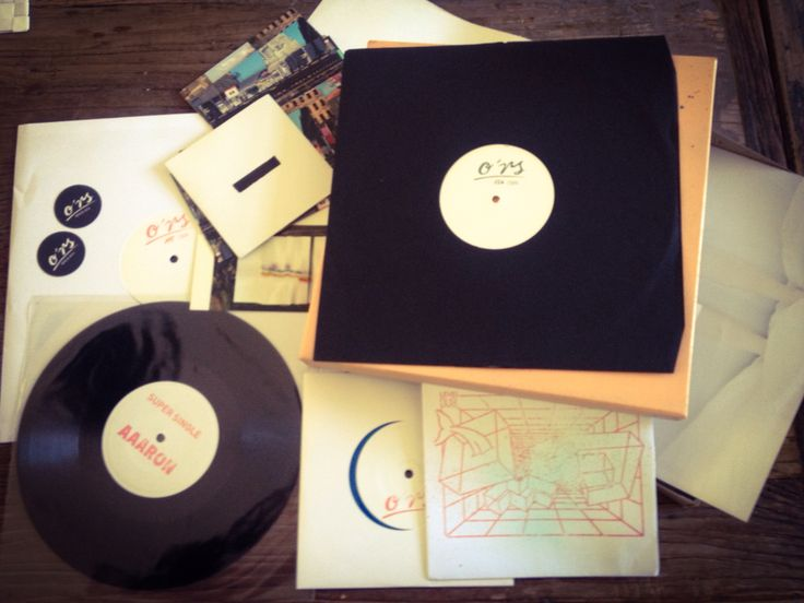 O'rs records vinyl package.