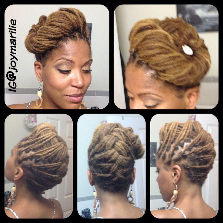Swell 1000 Images About Loc Styles Yarn Braids Twists Etc On Short Hairstyles Gunalazisus