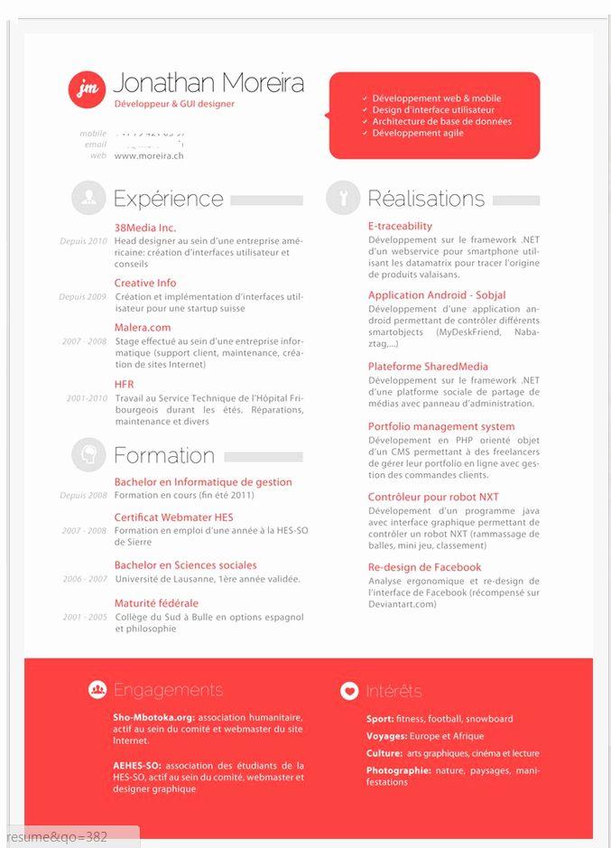 2 Column Resume Template Word Inspirational Resume With Two Columns Resume Design Inspiration Resume Design Resume