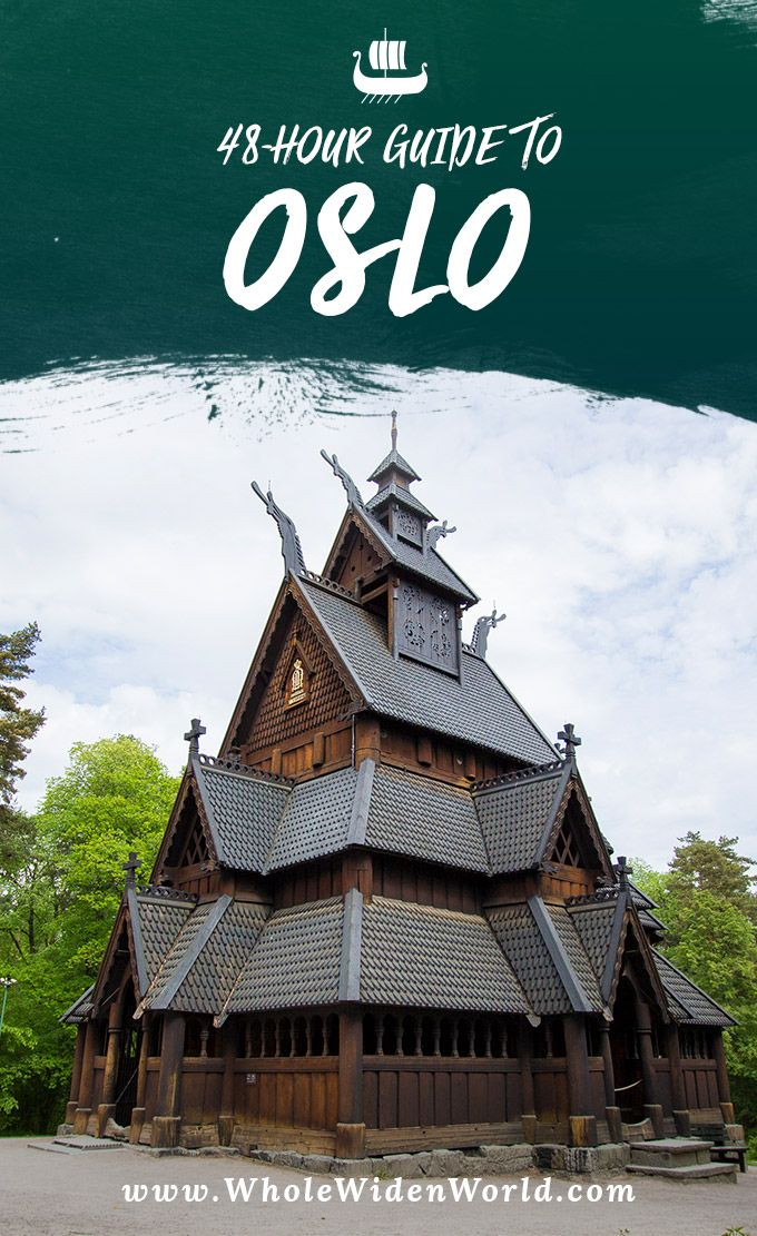 48-hour guide to Oslo, Norway. #Wholewidenworld #oslo #norway #travel #48hourguide #travelblog