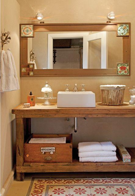 Las 25 mejores ideas sobre lavamanos con mueble en for Muebles cocina rusticos