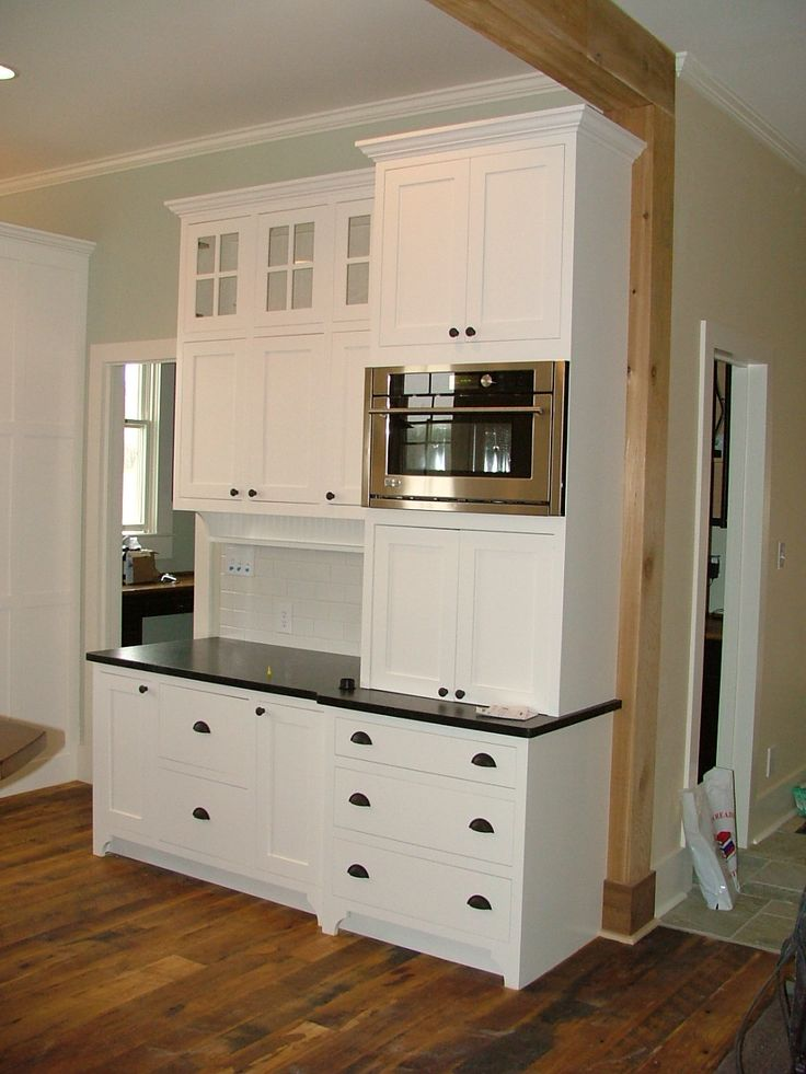 Best 25 Built In Microwave Ideas On Pinterest Built In Refrigerator Cabinets To Ceiling And