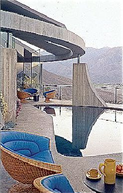John lautner 39 s elrod house 1968 palm springs 1965 1969 pinterest palms spring and john - Maison modulaire gurney architecte ...