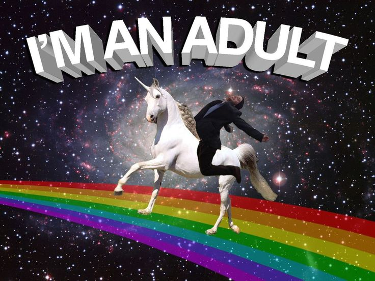Me #adult #unicorn