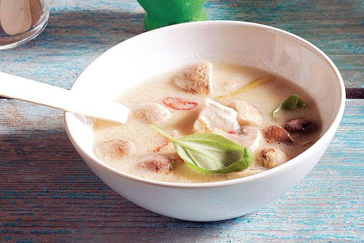 Thaise kippensoep - Recept - Koriander toevoegen?