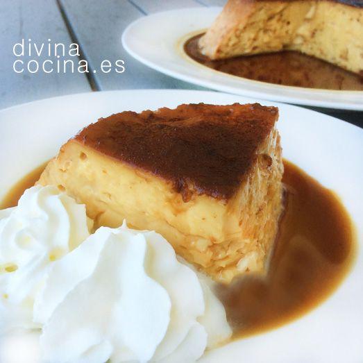 Flan de batido de vainilla » Divina CocinaRecetas fáciles, cocina andaluza y del…