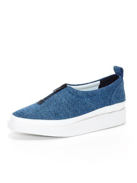 wite  A01- Denim Shoes