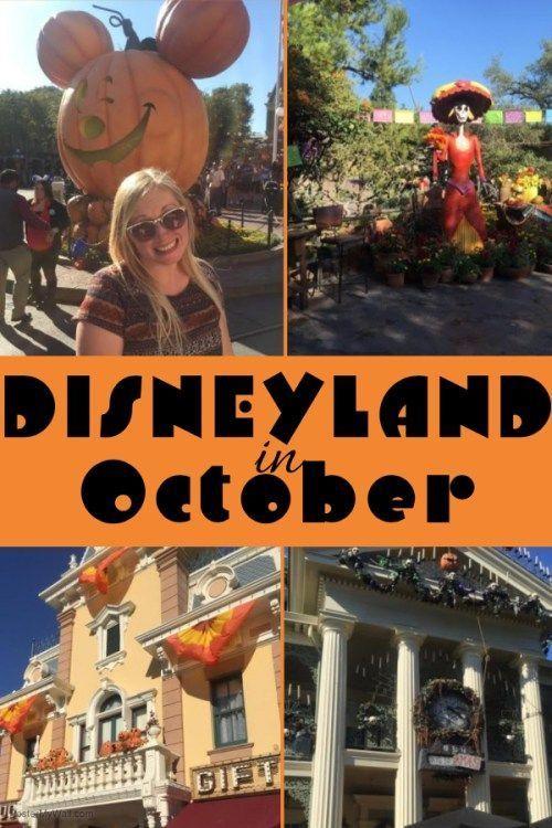 Disneyland in October Disneyland Pinterest Disneyland