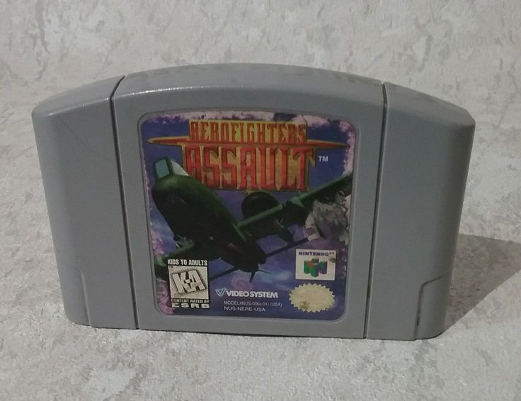 AEROFIGHTERS ASSAULT game cartridge only for NINTENDO 64 N64 system