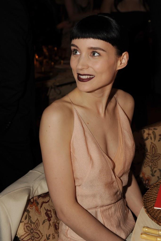 lip / Rooney Mara in Calvin Klein