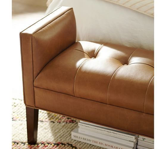 Lorraine Tufted Storage Bench: 25+ Best Ideas About Leather Bench Seat On Pinterest